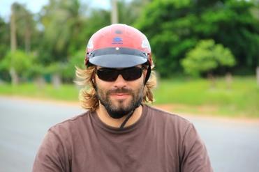 Auf Mopedtour