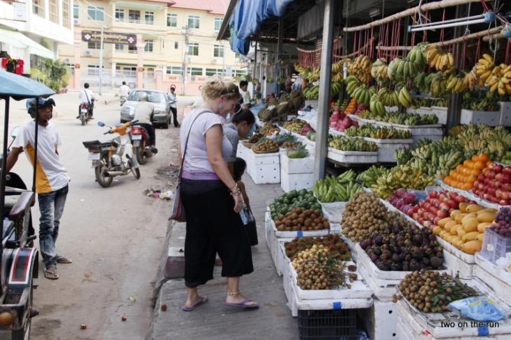 Obst für die Kinder kaufen