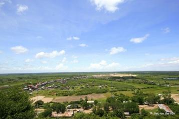 Blick in Weite in der Nähe des Tonle Sap