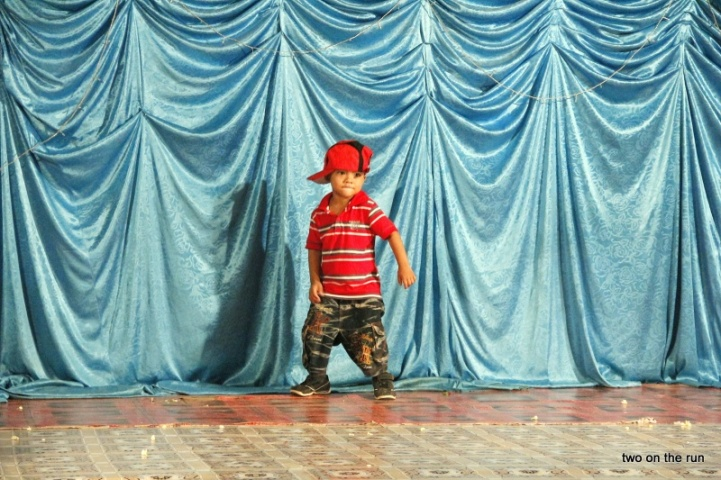 und der kleine Break Dancer