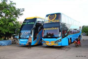 Nachtbusse nach Vientiane