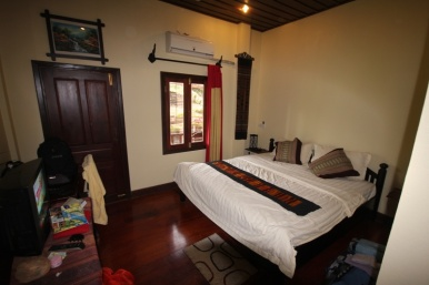 Unser Zimmer in Luang Prabang