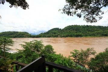 Am Mekong in Luang Prabang