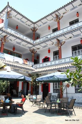 Unser Hostel in Dali