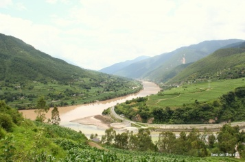 Am Beginn der Tiger Leaping Gorges