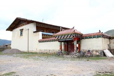 typisches tibetanisches Haus