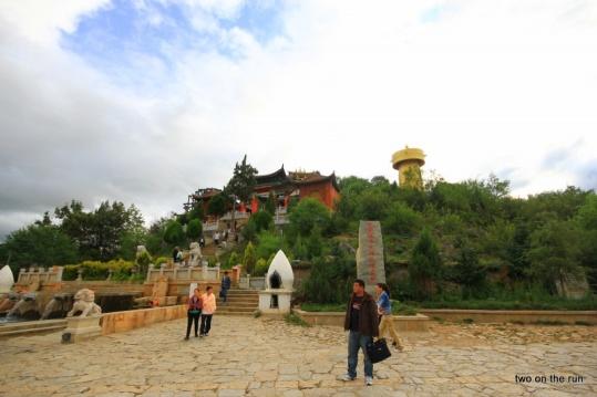 Tempelhügel in Shangri-La
