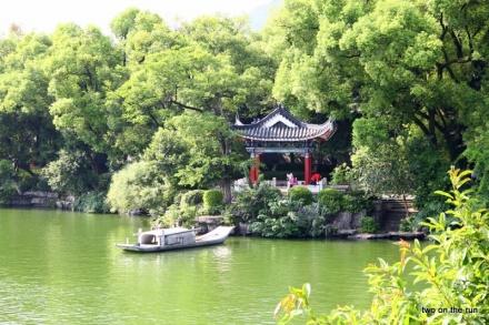 Tempel in Guilin