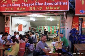 Guten Appetit - Claypot essen in Yangshou