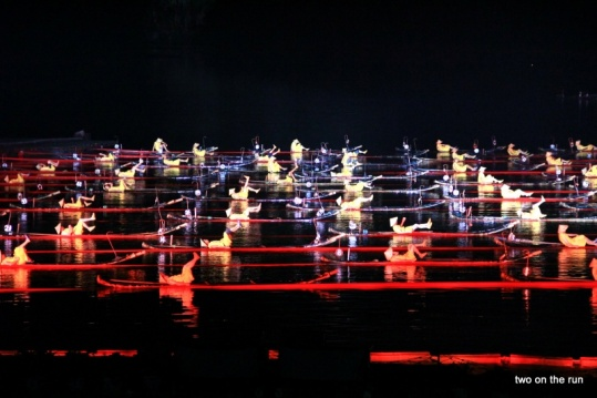 Lichtshow Yangshou