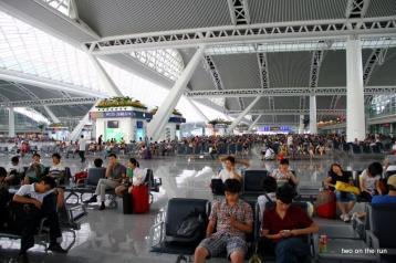 Der kleine Südbahnhof von Guangzhou