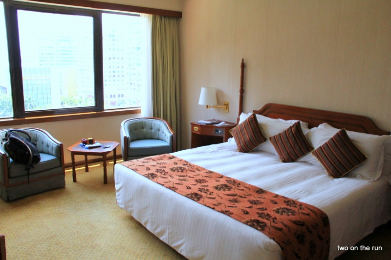 Unser Zimmer in Macau