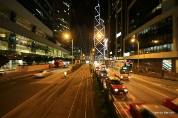 aus der Tram...Hong Kong