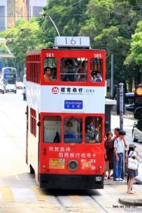 Tram in HK