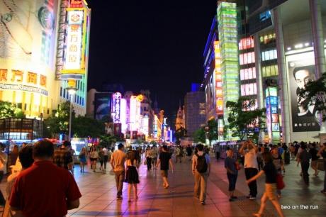 Shanghai Einkaufsmeile