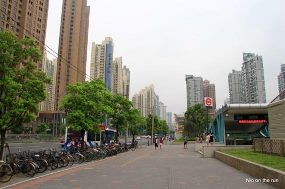 Das etwas trostlosere Shanghai