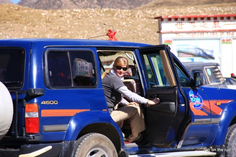 Unser Jeep
