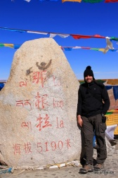 Am Old Pass in Richtung Namtso Lake