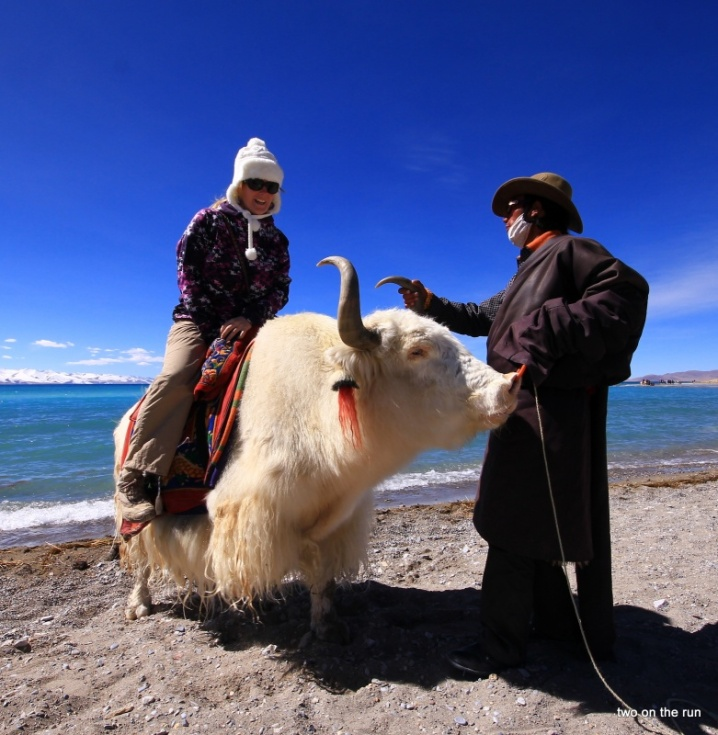 Am Namtso Lake