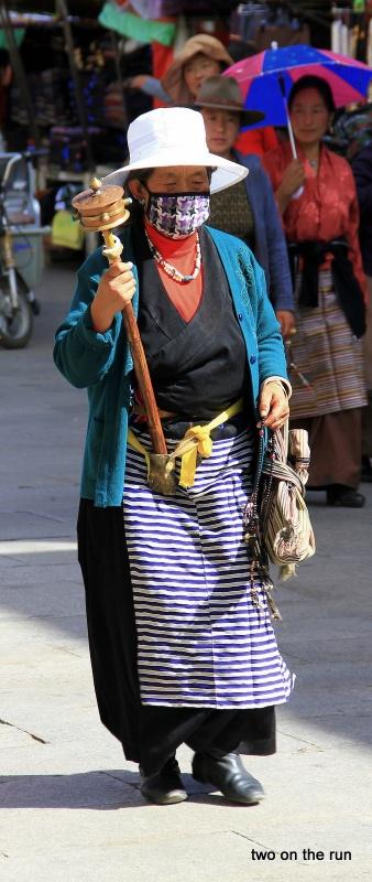 Gläubige in Lhasa