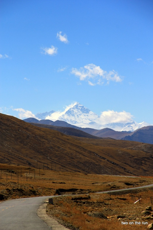 Bergpanorama mit Mt. Everest
