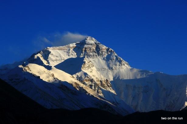 Mt. Everest vom Basecamp aus