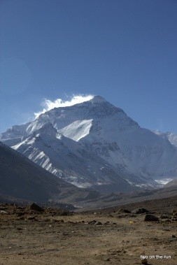 Mt. Everest am Morgen