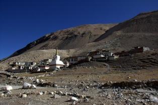 Höchstes Kloster der Welt - Rongphu Monastery in der Nähe des Basecamp