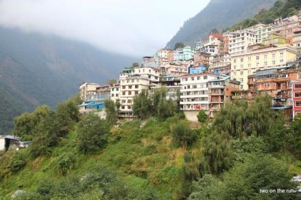 Chinesische Grenzstadt Zhangmuzhen