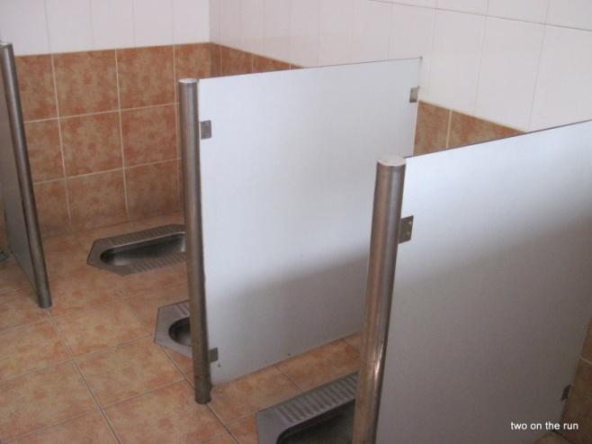 Öffentliche Toilette in einem Hutong