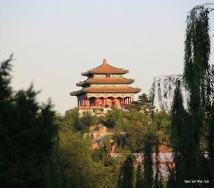 Jingshan Park - Tempel