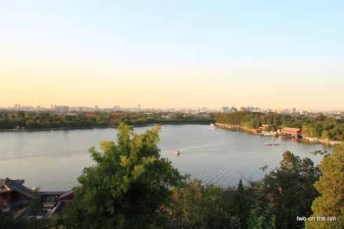 Blick auf den See im Beihai Park