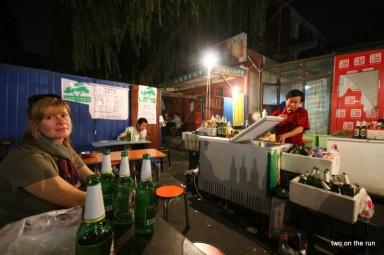Straßenstände in Sanlitun