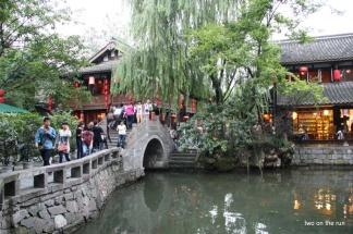 Traditionelles Viertel in Chengdu