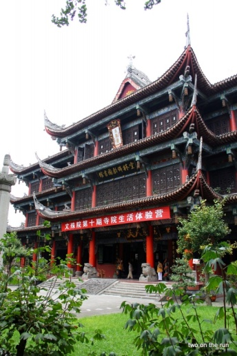 Historisches Viertel in Chengdu