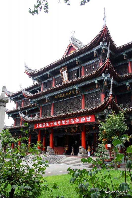 Alte Bibliothek in einem Tempel