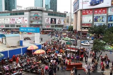 Ein ganz normaler Tag in Chengdu
