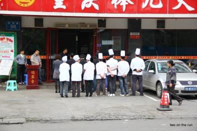 Heute werden wir mal Chinesisch kochen..oder?
