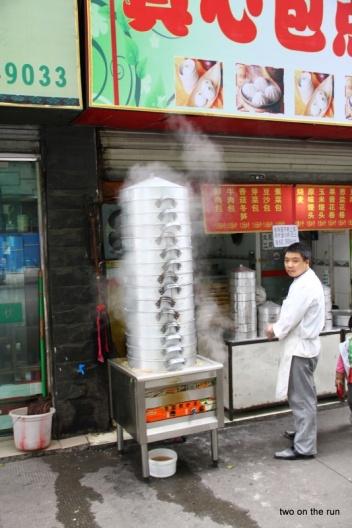 Es dampft gewaltig... Dim Sum Herstellung (kl. gefüllte Teigtaschen)
