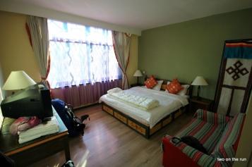 Unser Zimmer in Lhasa
