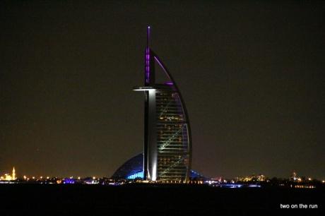 Bei Nacht - Burj al Arab