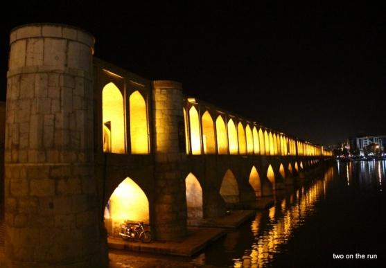 Si-o-Seh Brücke in Esfahan