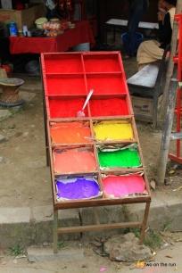 Farbe für das Pünktchen