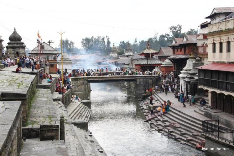 Pashupatinath - Hindutempel und Verbrennungsghat