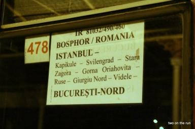 Auf nach Bukarest