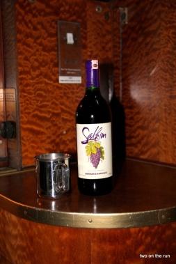 Fläschchen Vino tinto