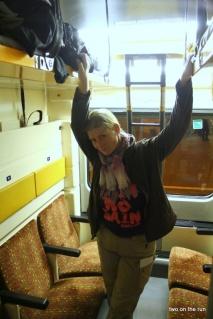 Im Zug nach Berlin