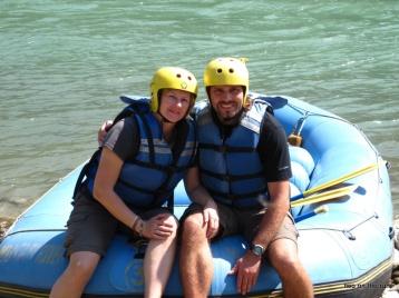 Beim Rafting