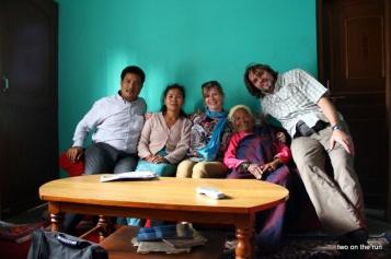 Die ganze Familie (ohne Kinder) mit uns