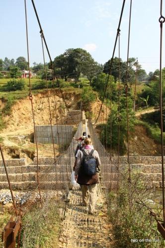 Die erste Brücke nach Kumari